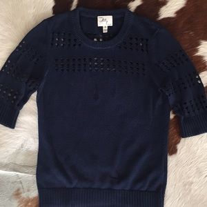 Milly Short Sleeve Sweater